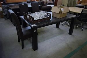 4 Seater wooden dining set for sale