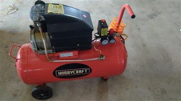 Red hobbycraft compressor for sale