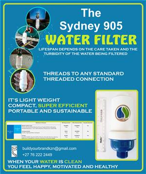 Water Filter - A Global Breakthrough