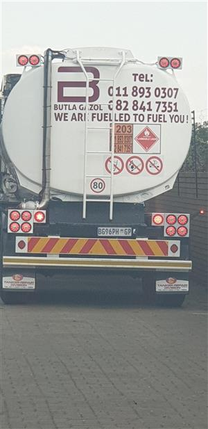 Fuel tankers for rent