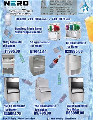 Automatic Ice Maker Machines