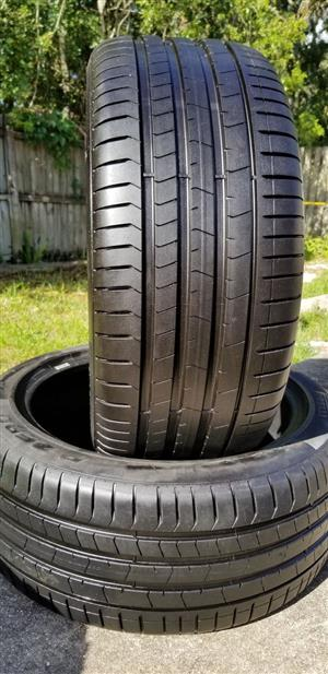 315/35R20 PIRELLI (RUNFLAT) TYRES FOR SALE