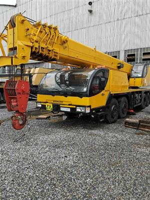 2008 Zoomlion (63t) All Terrain Crane