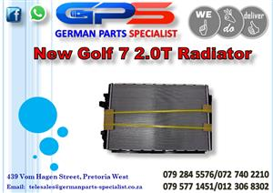 New VW Golf 7 2.0T Radiator for Sale