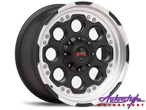 17 inch Lenso Max-6 6 139 Alloy Wheels bakkie 4by4 offroad off road applications