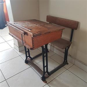 Old school desk for sale