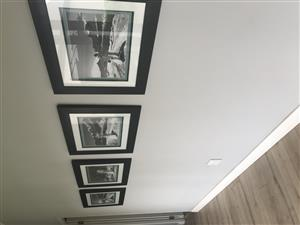 Four picture frames for sale