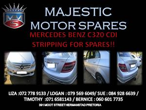 MERCEDES BENZ C320 CDI STRIPPING FOR SPARES !!