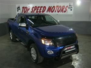 2012 Ford Ranger 3.2 SuperCab 4x4 XLS