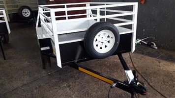 2M UTILITY TRAILER FOR SALE, BRAND NEW, PAPERS AND ALL INCLUDED