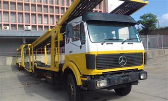 1990 Mercedes 9 car carrier