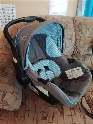 Blue and grey carrier for sale