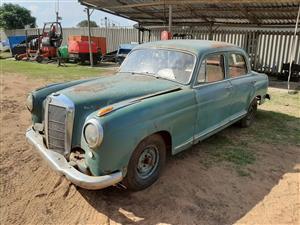 1958 Mercedes Benz 219 Ponton