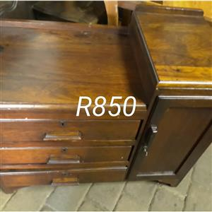 Wooden drawer cabinet for sale