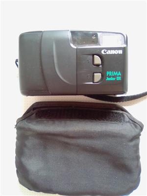 Cannon Film Camera. With carrying pouch.
