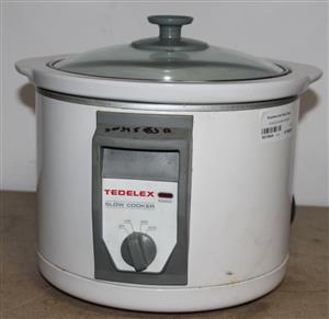 Tedelex slow cooker S031863A #Rosettenvillepawnshop