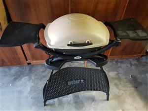 Weber Q2000 Gas Grill & Stand