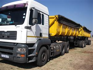 AMAZING DEAL MAN 26-480 WITH TIPPER FOR SALE