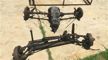 Front and Back Suspension - 1600 VW Beetle