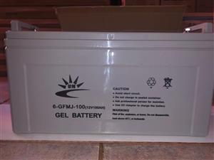 Brand New Solar Gel Batteries