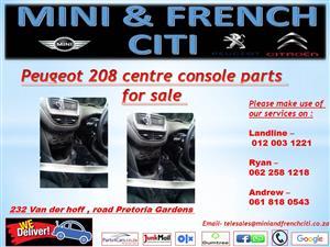 Peugeot 208 centre console parts for sale !!