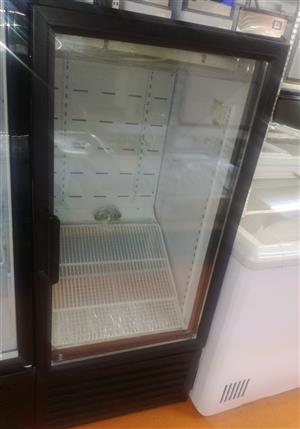 Beverage Cooler 216LT Single Sliding Door Hinged DEMO