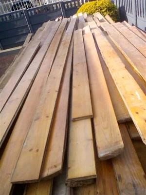 100mm reclaimed Oregon pine flooring for sale
