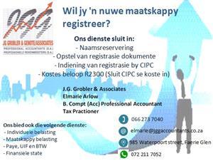 Maatskappy registrasies