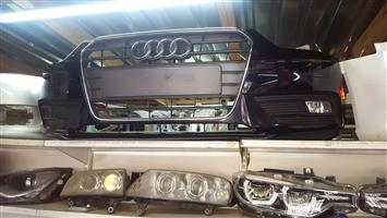 2014 Audi A4 Complete Front Bumper For Sale For More Info Contact Ebrahim On 0833779718