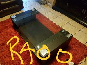 Glass top middle table for sale