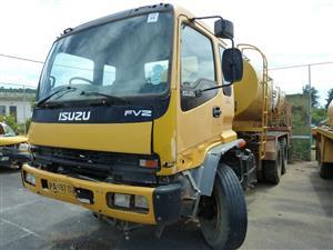 Isuzu Water Tanker 1400 FVZ Turbo, Heat Station Pump: 9 001 - 12 000 I Truck