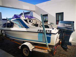 Viking cabin boat for sale.