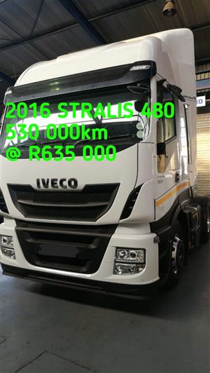 2016 Stralis 480