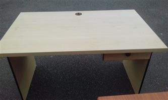 Maple Desk with Drawer