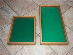 Wooden Display Frames