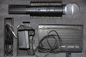 Microphone cordless