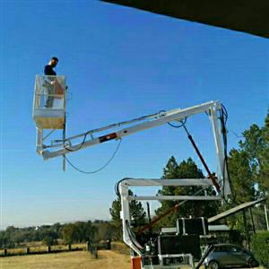 9m cherry picker for sale. trailer mounted