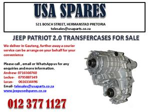 JEEP PATRIOT 2.0 TRANSFER CASE FOR SALE. USA SPARES