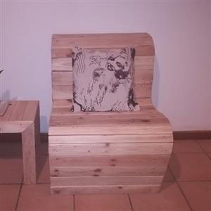 S Shape Chair Modern