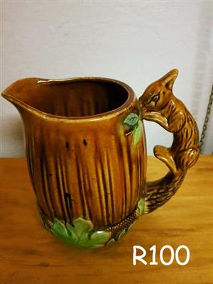 Squirrel jug for sale