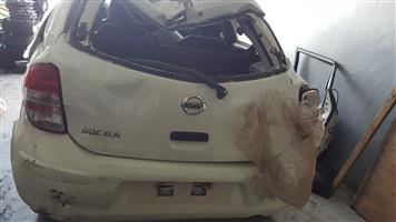 NISSAN MICRA 2013 STRIPPING FOR SPARES