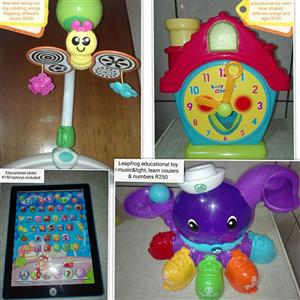 Tablet and educational toys