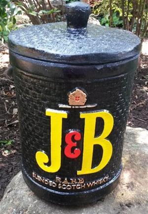 ICE BUCKET: J & B SCOTCH WHISKEY. Brand New Product.