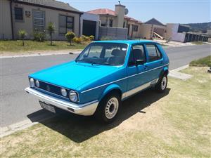 1989 VW Citi CITI 1.6i