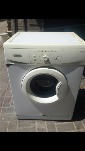 Whirlpool front loader