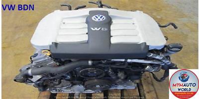VW PASSAT 4.0L 4 MOTION BDN ENGINE FOR SALE