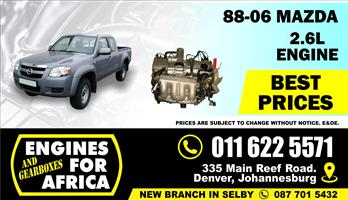 Used Mazda G6 2.6L 88-06 Engine FOR SALE