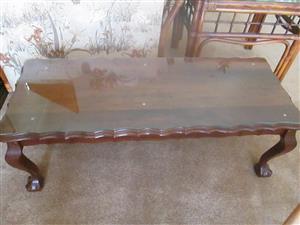 Imbuia Coffee table for sale.