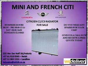 Citroen c2 radiator for sale
