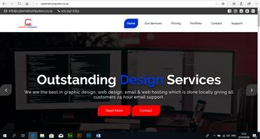 We Host and Design Websites from as little as R999
